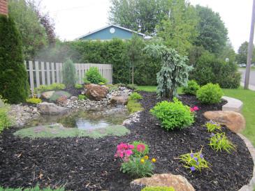 Am nagement paysager jardin pro route 222 for Photos amenagement jardin paysager